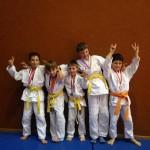 Les jeunes médaillés écoliers B et C
