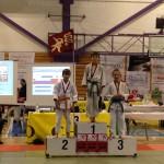 Simon 1er et Stevan 3ème en A-33kg